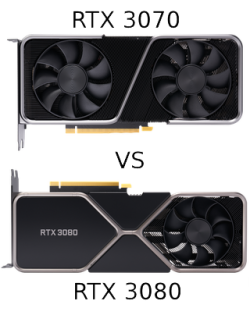 GeForce RTX 3070 vs GeForce RTX 3080