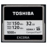 Toshiba 32 GB Compact Flash 1000X (CF-032GTGI(8) - фото 1