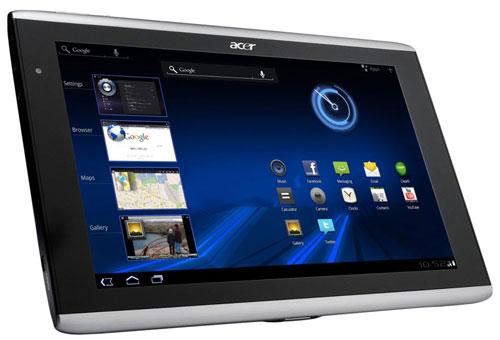 Андроид 3.0 x Acer Iconia TAB A500 (Асер Исониа ТАВ А500)
