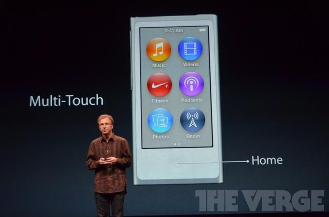 Новый ipod nano 7G