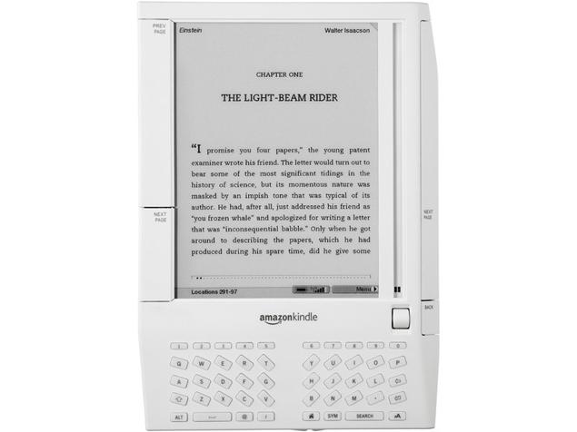 Первая в мире электронная книга kindle 2007