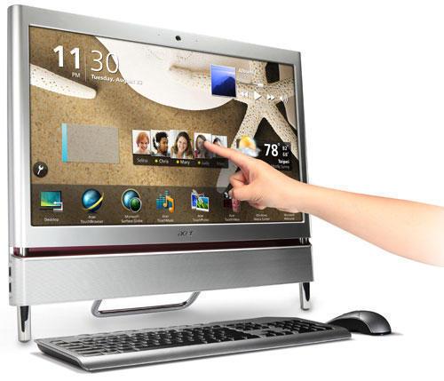 Acer Aspire Z5710 (Асер Аспире Z5710) с сенсорным экраном