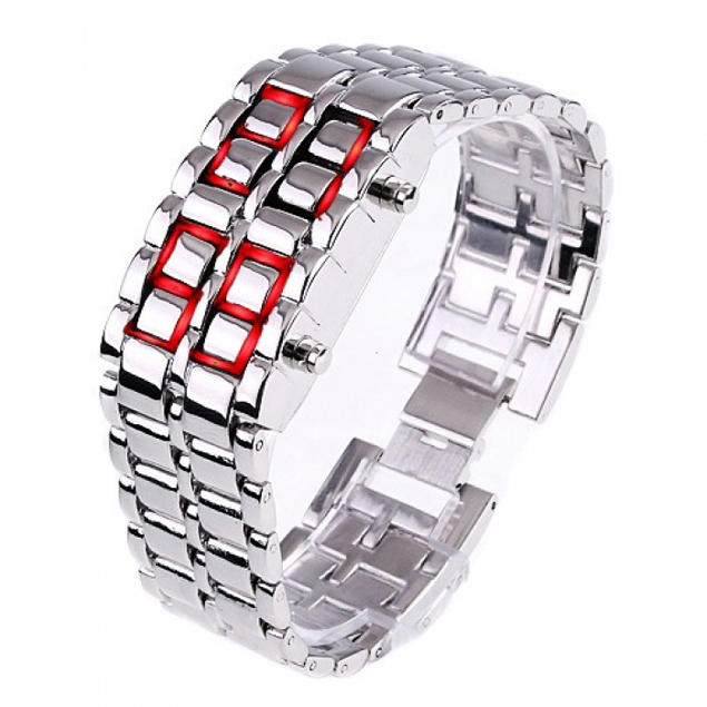 LED Watch Iron Samurai