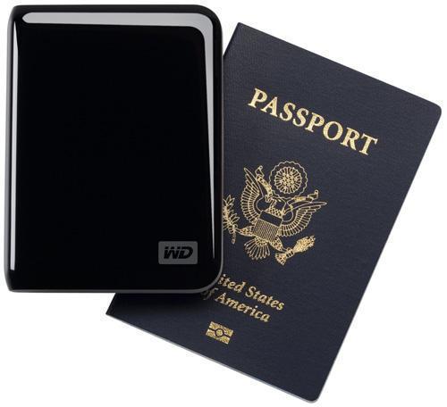 Винчестеры серии Passport от WD