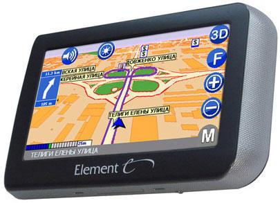 GPS навигатор с 3D картами