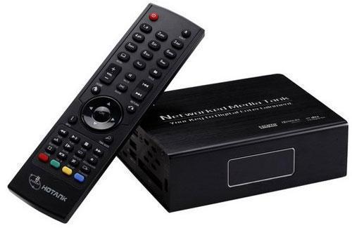 HD-плеер и пульт ДУ