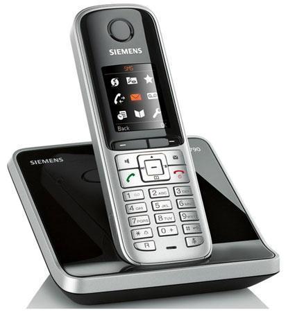Радиотелефон Siemens Gigaset S790 с большим, цветным экраном