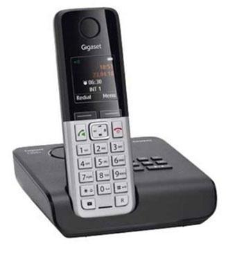 Радиотелефон Siemens Gigaset C300A поддерживает функцию отправки SMS