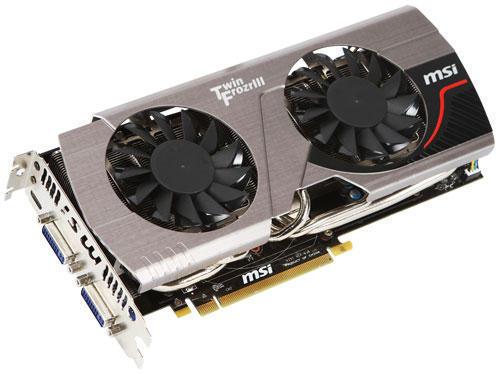 Модернизированная NVIDIA GeForce N570GTX (НВИДИА ГеФорс N570GTX) от MSI