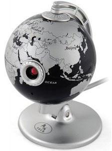 Веб-камера з корпусом у вигляді глобуса