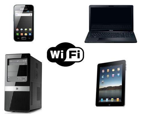 Устройства, использующие Wi-Fi (Вай-Фай)