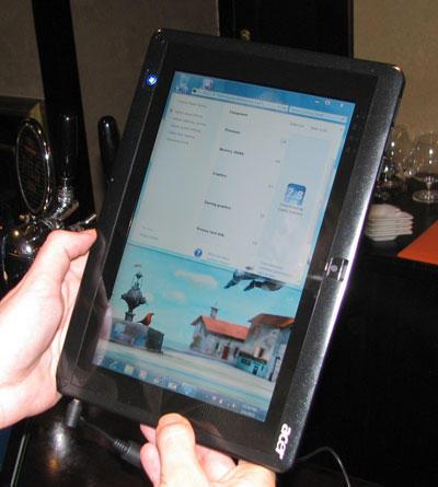 планшет Acer WT1