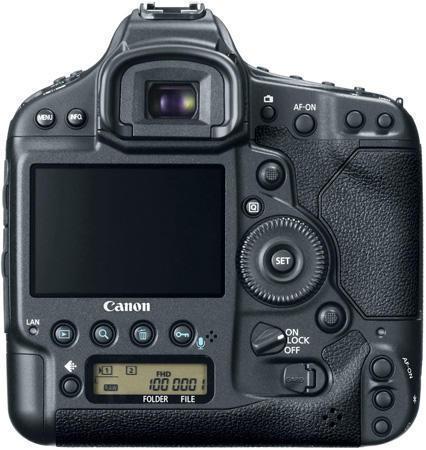 Фотокамера Canon EOS-1D X (Кенон EOS-1D X) вид сзади