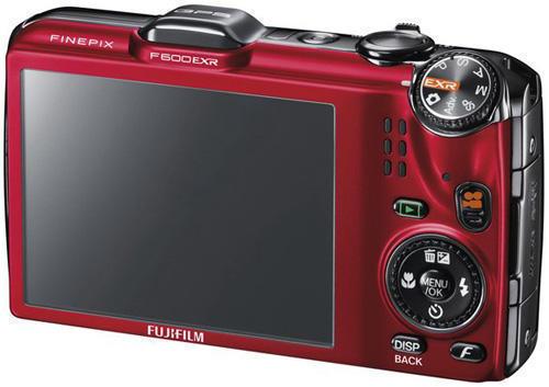 фотокамера Fujifilm FinePix F600EXR (вид сзади)