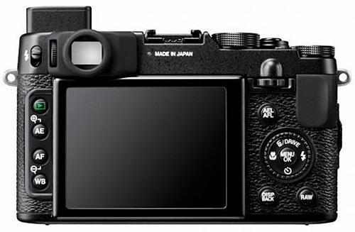 Фотокамера Fujifilm FinePix X10 (дисплей)
