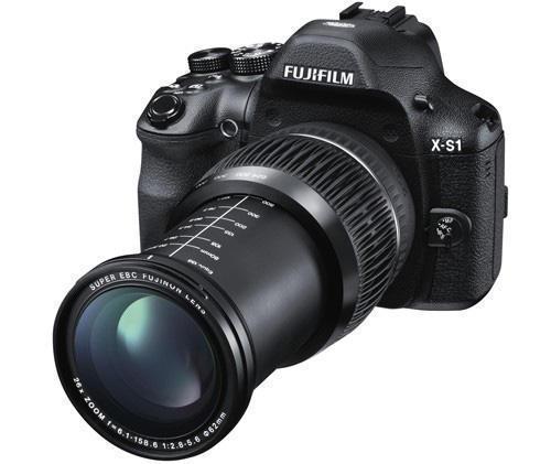 Новая фотокамера Fujifilm X-S1