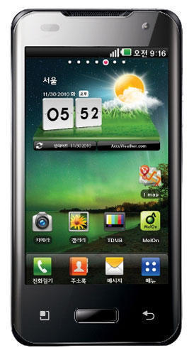 Смартфон LG Optimus 2X
