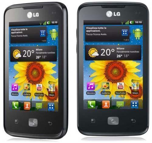 смартфон LG Optimus Hub