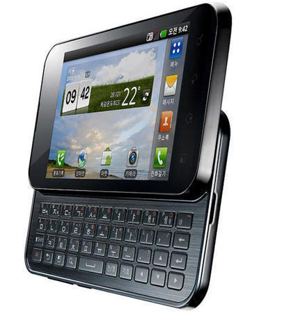 Смартфон LG Optimus Q2 (Элджи Оптимус Q2) с выдвинутой клавиатурой