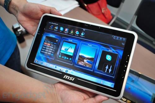 планшет MSI WindPad 100