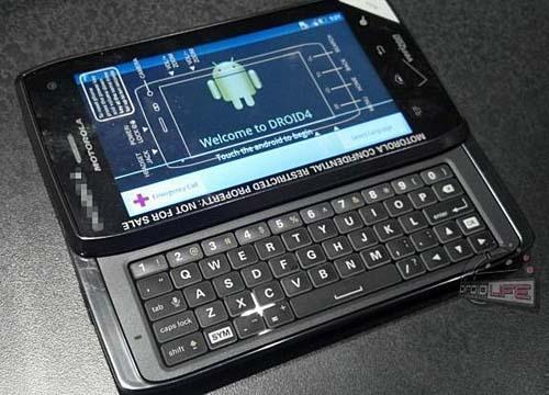 Смартфон Motorola Droid 4 (Maserati)