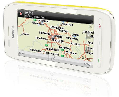 Навигационная карта в смартфоне