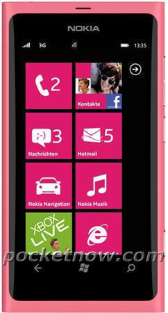 Смартфон Nokia 800 (Нокиа 800) розовый