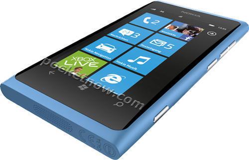 Смартфон Nokia 800 (Нокиа 800) голубой