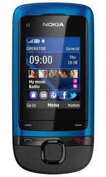 Слайдер Nokia C2-05 (Нокиа С2-05)