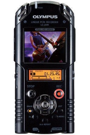 диктофон-камера Olympus LS-20M