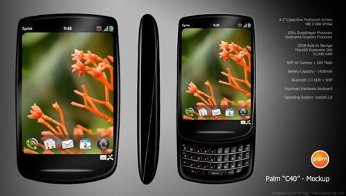 смартфон Palm C40