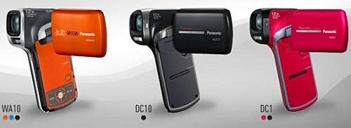 Panasonic HX-WA10, Panasonic HX-DC10 и Panasonic HX-DC1