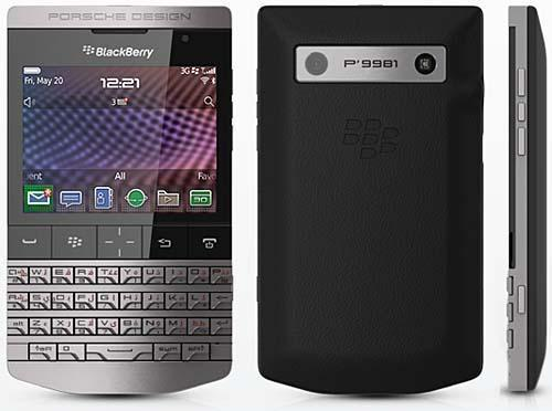 Люксовый смартфон BlackBerry Porsche Design P'9981 (Блекберри Порше Дизайн P'9981)