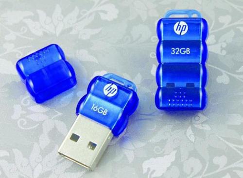 Миниатюрные флешки от HP на 16 и 32 Гб