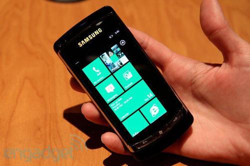 Прототип смартфона Samsung (Самсунг) на ОС Windows Phone 7