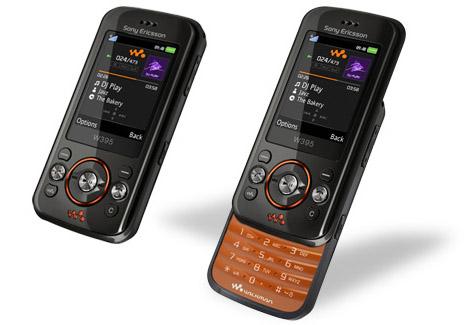 Продажи мобильных телефонов Sony Ericsson W395 в новых расцветках уже стартовали на отдельных рынках.