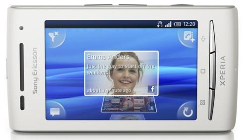 Смартфон Sony Ericsson (Сони Ериксон) XPERIA X8  (Дисплей)