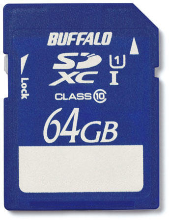 Карта памяти Buffalo RSDX-64GU1