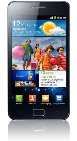 Андроид-аппарат Samsung Galaxy S II (Самсунг Галакси S II)