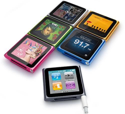 плеер iPod nano 6G