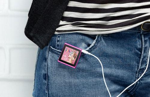 iPod nano 6G (крепление на одежду)