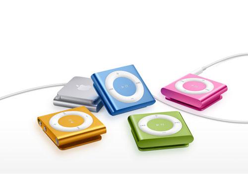 iPod shuffle 4G (разные цвета)