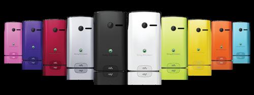 Sony Ericsson (Сони Ериксон) Yendo (10 вариантов цвета задней панели)