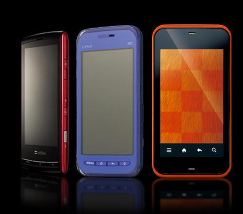 три Android-смартфона с 3D-дисплеями