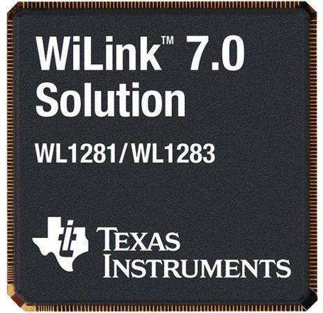 чип Texas Instruments WiLink 7