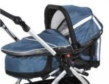 TFK MultiX Carrycot carbo/steel blue - фото 1