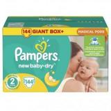 Pampers New Baby-Dry Mini 2 (144 шт.) - фото 1
