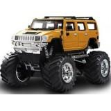 GreatWall Джип на р/у Hummer Strong 1:43 Желтый (GWT2008D-7) - фото 1