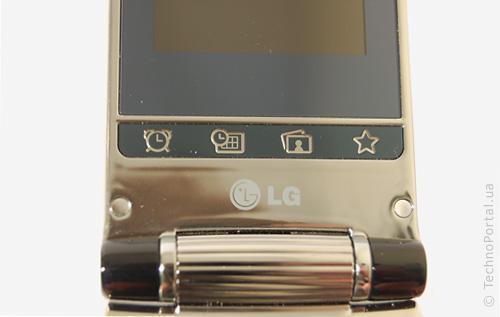 LG KF305 (Кнопки меню)