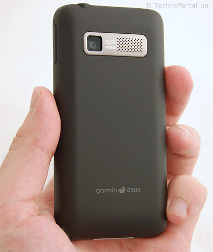Garmin-ASUS Nuvifone M10 тильна сторона
